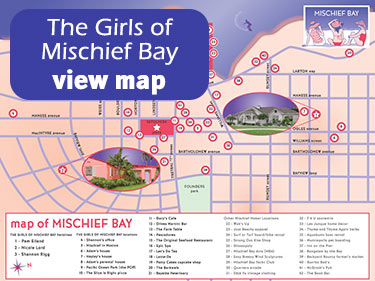 The Girls of Mischief Bay Map
